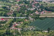 Eisenbahnbrücke bei Görlitz im Bundesland Sachsen