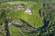 Rochsburg mit Schloss im Bundesland Sachsen.