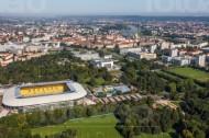 Stadion in Dresden im Bundesland Sachsen