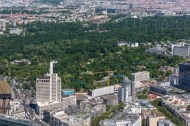 Parkanlage großer Tiergarten in Berlin.