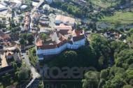 Das Schloss Colditz im Bundesland Sachsen.
