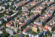 Wohnviertel in Berlin.