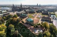 Dresdner Zwinger in der Altstadt von Dresden im Bundesland Sachsen