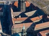 Kreuzkirche am Dresdner Altmarkt im Bundesland Sachsen