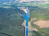 Schiffshebewerk Niederfinow in Niederfinow im Bundesland Brandenburg