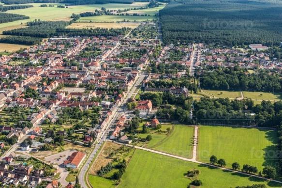 Oranienbaum im Landkreis Wittenberg in Sachsen-Anhalt.