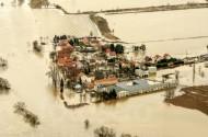 Hochwasser in Pillnitz im Bundesland Sachsen