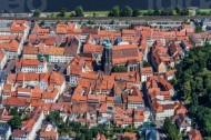 Die Altstadt in Pirna in Sachsen.