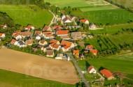 Häusersiedlung in Benzendorf bei Nürnberg.
