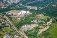 Kraftwerksmuseum und Gewerbegebiet Hirschfelde im Bundesland Sachsen