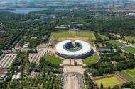 Ortsteil Westend in Berlin mit dem Olympiapark.