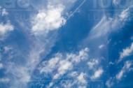Wolkenhimmel mit Struktur