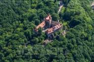 Schloss Scharfenberg im Bundesland Sachsen, nahe der Elbe.