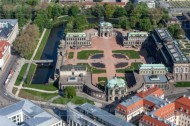 Dresdner Zwinger in Dresden im Bundesland Sachsen