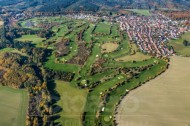 Golfplatz in Ullersdorf bei Radeberg im Bundesland Sachsen