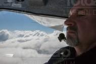 Der Pilot und sein Wolkenmeer