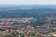 Berliner Wuhlheide am Fluss Dahme in der Hauptstadt Berlin