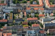 Die Neustadt von Dresden im Bundesland Sachsen