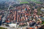 Stadtkern von Bautzen im Bundesland Sachsen
