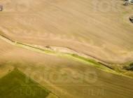 Felderlandschaft von Oberlichtenau im Bundesland Sachsen