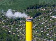 Heizkraftwerk in Chemnitz im Bundesland Sachsen
