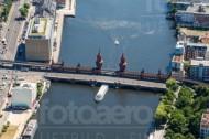 Oberbaumbrücke in der Hauptstadt Berlin