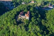 Schloss Scharfenberg im Bundesland Sachsen.