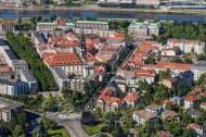 Innere Neustadt in Dresden im Bundesland Sachsen