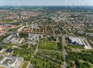 Stadtteil Johannstadt in Dresden im Bundesland Sachsen