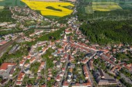 Die Stadt Nossen im Bundesland Sachsen