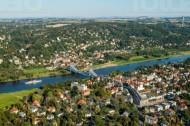 Das Blaue Wunder in Dresden bei Sachsen.