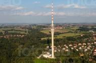 Fernsehturm in Dresden im Bundesland Sachsen
