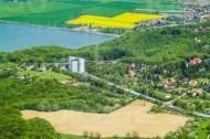 Stausee Niederwartha bei Cossebaude im Bundesland Sachsen