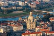 Frauenkirche in Dresden im Bundesland Sachsen