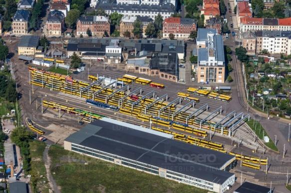 Betriebshof Trachenberge in Dresden im Bundesland Sachsen