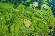 Golfanlage Ullersdorf in der Dresdner Heide im Bundesland Sachsen