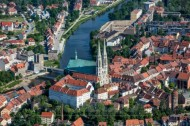 Neiße in Görlitz im Bundesland Sachsen