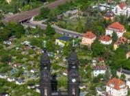 Christuskirche im Dresdner Stadtteil Strehlen im Bundesland Sachsen