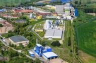 Industriegebiet in der Stadt Malchin im Bundesland Mecklenburg-Vorpommern