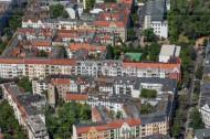 Wohngebiet um die Friedrich-List-Schule in Berlin Schöneberg.