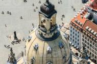 Turm der Frauenkirche in Dresden im Bundesland Sachsen