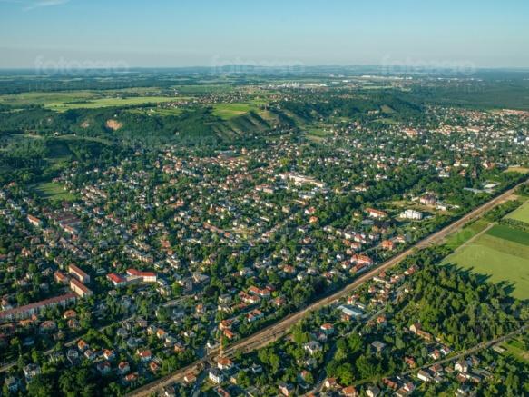 Radebeul im Bundesland Sachsen