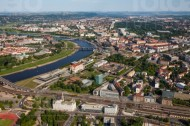 Dresdner Stadtkern im Bundesland Sachsen