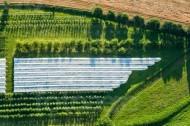 Baumanbau mit Schutzplanen