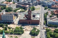 Rotes Rathaus in Berlin.