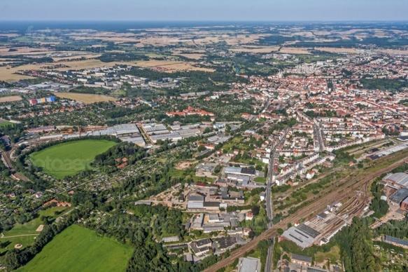 Görlitz in der Oberlausitz im Bundesland Sachsen