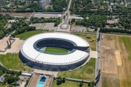Olympiastadion Berlin im Ortsteil Westend: