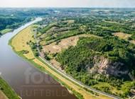 Meißen und Elbe im Bundesland Sachsen