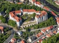 Das Schloss Nossen in der Stadt Nossen im Bundesland Sachsen