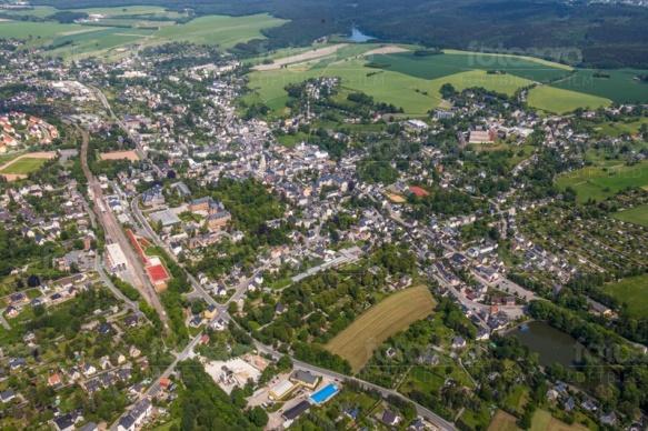 Stollberg im Erzgebierge in Sachsen.